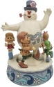 Jim Shore Frosty 6007341 Frosty with Children Figurine