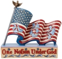 Jim Shore 6008790 Patriotic One Nation Figurine
