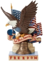 Jim Shore 6008791 Patriotic Freedom Figurine