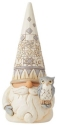 Jim Shore 6008864N Woodland Gnome With Birdhouse Figurine