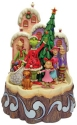 Jim Shore Grinch 6008890N Carved by Heart Lighted Grinch Figurine