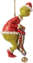 Jim Shore Grinch 6008894N Grinch Dated Stocking Ornament