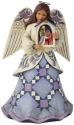 Jim Shore 6008922N Angel Holding Nativity Figurine