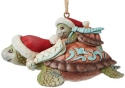 Jim Shore 6008937N Christmas Sea Turtle Ornament