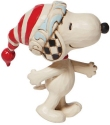 Peanuts by Jim Shore 6008960 Mini Snoopy With Red And