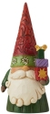 Jim Shore 6009183N Christmas Gnome Holding Gifts Figurine