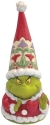 Jim Shore 6009200N Grinch Gnome with Large Heart
