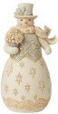 Jim Shore 6009398N Holiday Lustre Snowman Figurine