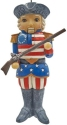 Jim Shore 6009472N American Nutcracker Ornament