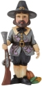 Jim Shore 6009474N Harvest Pilgrim Mini Figurine