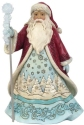 Jim Shore 6009485N Wonderland Santa with Snowflake Figurine