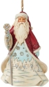 Jim Shore 6009488N Wonderland Santa Ornament