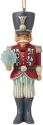 Jim Shore 6009489N Wonderland Nutcracker Ornament
