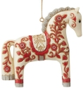 Jim Shore 6009503 Nordic Noel Dala Ornament