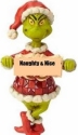 Jim Shore Grinch 6009536N Grinch Naughty and Nice PVC Ornament