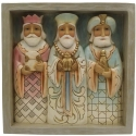 Jim Shore 6009563N Three Kings Plaque