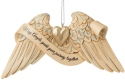 Jim Shore 6009575N Angel Wings Wedding Ornament