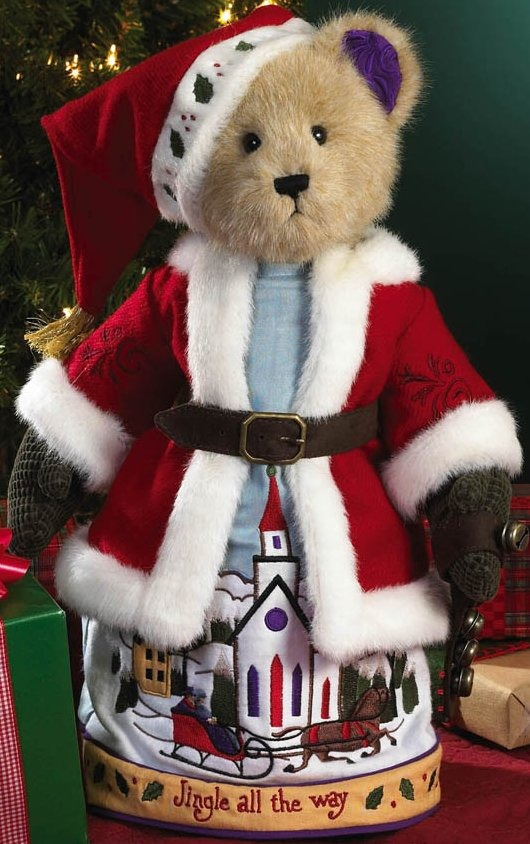 Boyds Bears by Jim Shore 4019167 Santa Bear Plush