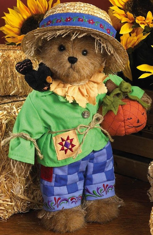 Boyds Bears by Jim Shore 4019169 Scarecrow Bear Plush