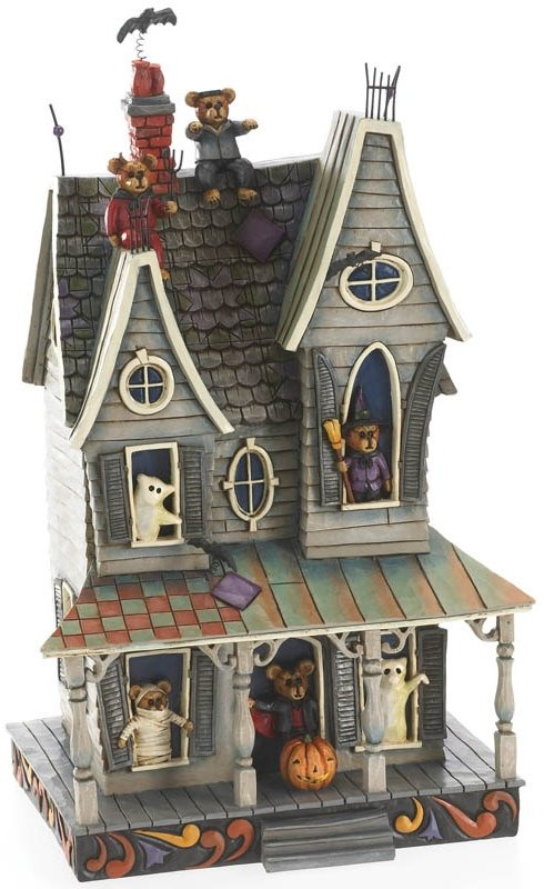 Boyds Bears by Jim Shore 4022298 Haunted House Figurine