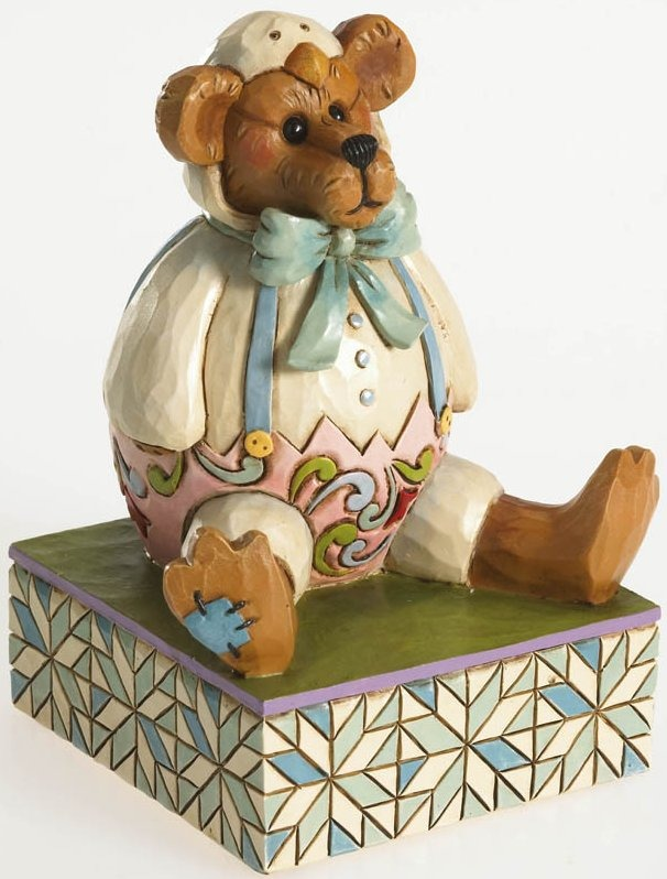 Boyds Bears by Jim Shore 4026267 Bear In Chicken Suit Figurine