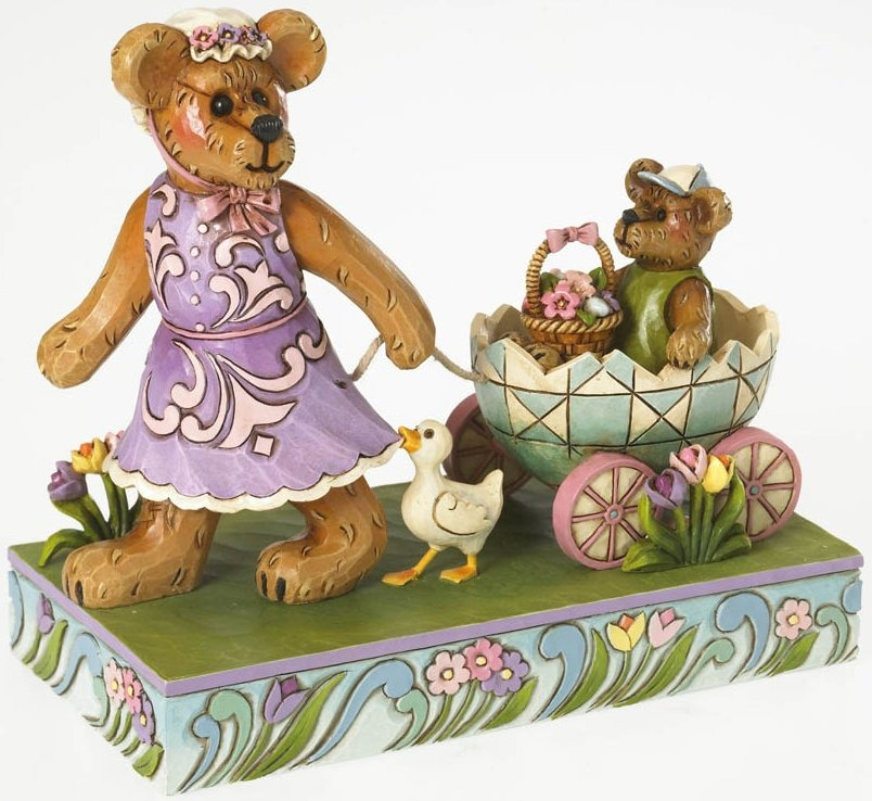 Boyds Bears by Jim Shore 4026268 Easter Parade Figurine