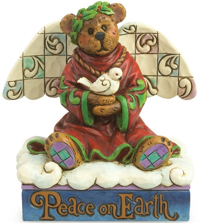 Boyds Bears by Jim Shore 4035826 Peace Angel Bear Figurine
