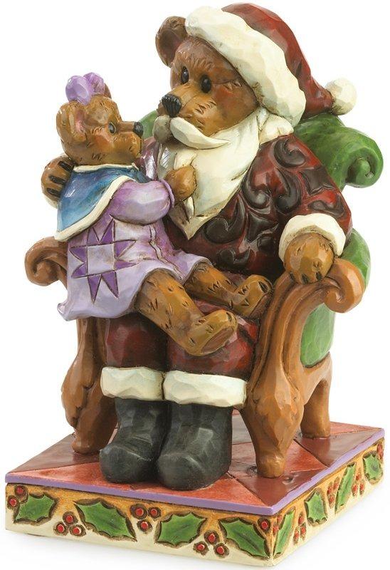 Boyds Bears by Jim Shore 4035827 Simple Santa Bear Figurine