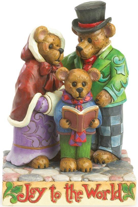 Boyds Bears by Jim Shore 4035828 Carolers Figurine