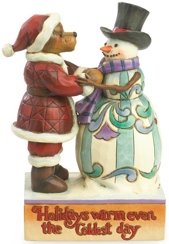 Boyds Bears by Jim Shore 4035829 Snowman Figurine