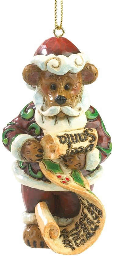 Boyds Bears by Jim Shore 4035833 Dear Santa Ornament