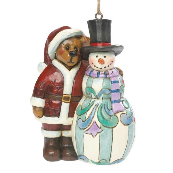 Boyds Bears by Jim Shore 4041915 Snowman Ornament