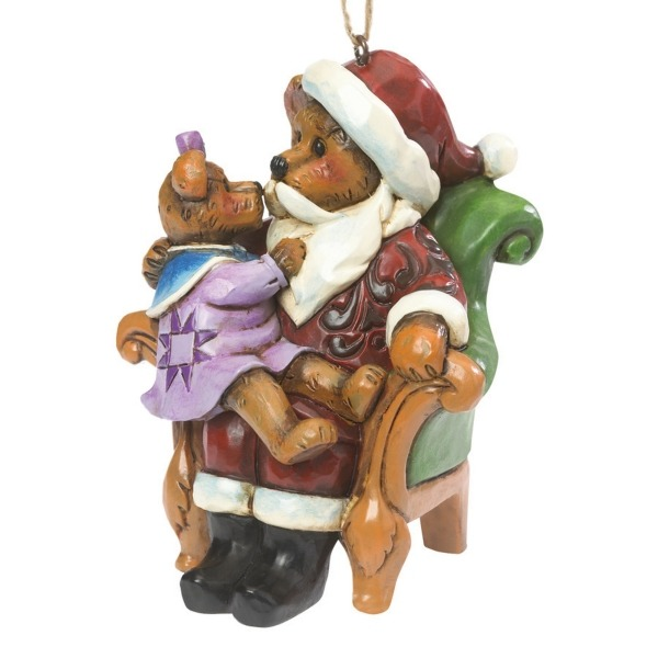Boyds Bears by Jim Shore 4041916 Santa Ornament