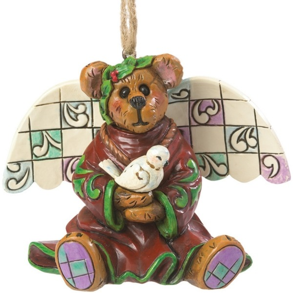 Boyds Bears by Jim Shore 4041917 Peace Angel Ornament