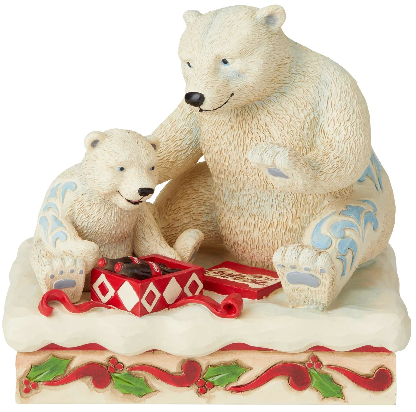 Jim Shore Coca Cola 6003597 Polar Bear Present