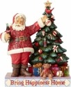 Jim Shore Coca Cola 4059472 Santa Decorating Tree