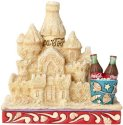 Jim Shore Coca Cola 6000997 Coke Sand Castle