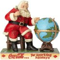 Jim Shore Coca Cola 6000998 Santa Figurine