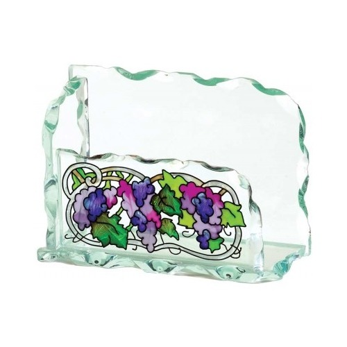 Special Sale BCH1010 Joan Baker Designs BCH1010 Grape Arbor Business Card Holder