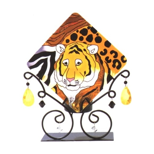 Joan Baker Designs JTL033 Safari Jeweled Tea Light Candle Holder
