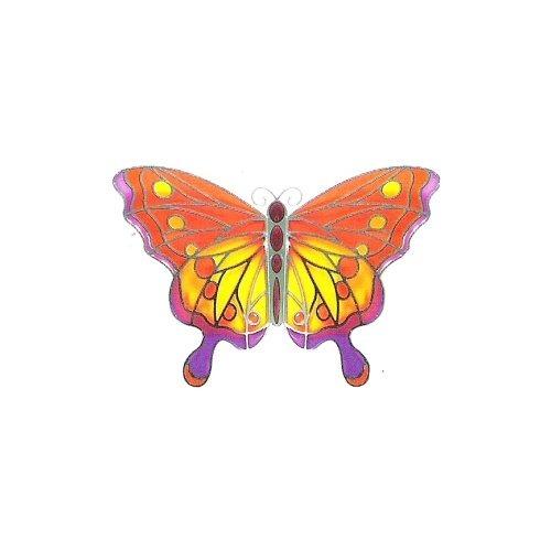 Joan Baker Designs MM1006 Orange & Purple Set of 3 Butterfly Magnets
