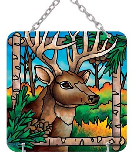 Joan Baker Designs SFS4005 Deer Sign for Suncatcher