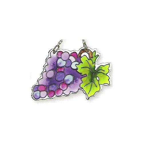 Joan Baker Designs SSM1007 Grapes Water Cut Suncatcher
