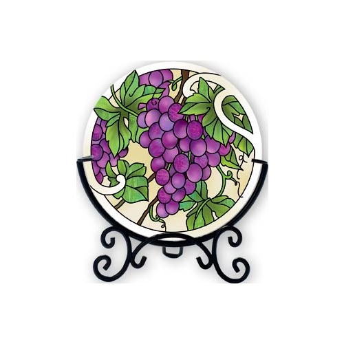 Joan Baker Designs VMC003 Grape Arbor Candleware