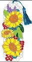 Joan Baker Designs BMM2011 Sunflower Field Bookmark