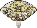 Joan Baker Designs NL163 Pop Floral in Neutrals Night Light