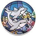 Joan Baker Designs PWT1007 Dolphins Paperweight