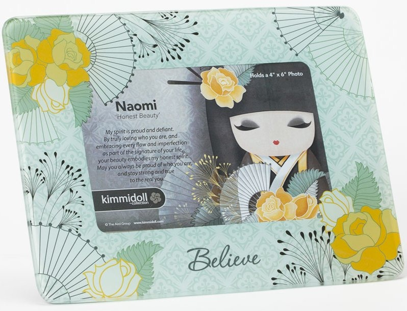 kimmidoll Collection 4040741 Naomi Honest Beauty Photo Frame