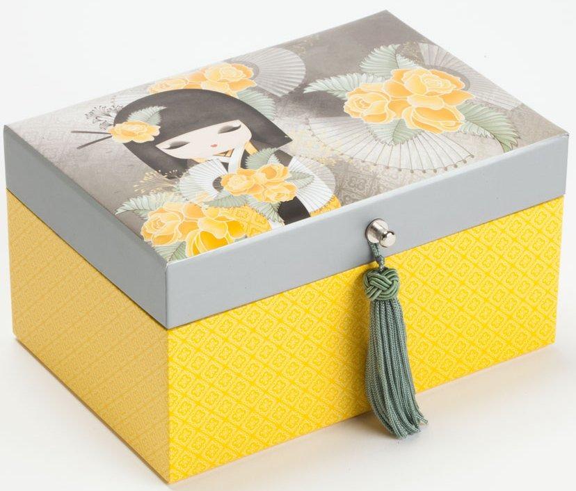 kimmidoll Collection 4040750 Naomi Honest Beauty Jewelry Box