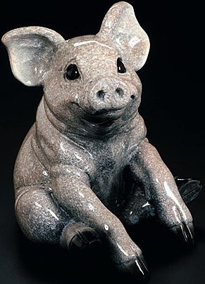 Kitty's Critters 8059 Webster Pig